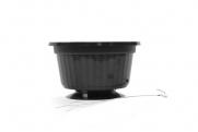 "10"" POP Basket - Black w/ Wire Hanger"