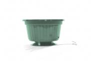 "10"" POP Basket - Green w/ Wire Hanger"