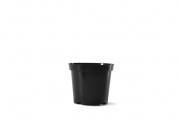 """4.5"""" Round Geranium - Black"""