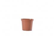 """4.5"""" Round Geranium - Terra Cotta"""