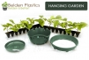 "10"" Belden Hanging Garden TM - Green"